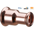 Copper Press Straight Coupling Reduction 22*18