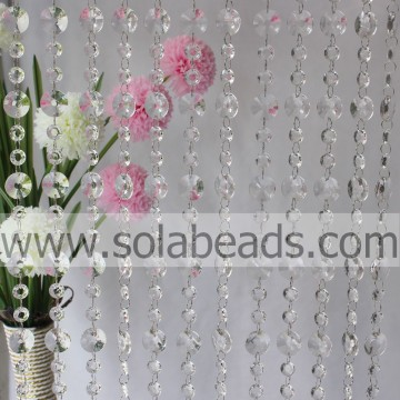 Levert 30MM & 18 MM Crystal Beaded Garland trimmen