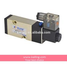 Válvula solenóide da série 4V300, válvula de controle pneumático, tipo do guia interno