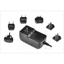 Adaptador de corriente de enchufe internacional intercambiable 5v 1000ma