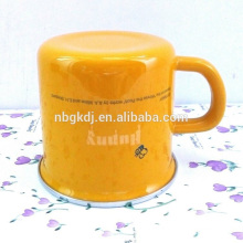 Chinese style enamel mugs and cups & kids drinking of enamel cups