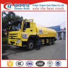 SINOTRUK HOWO 20000 litros camión cisterna de almacenamiento de agua