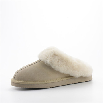 Women's Leather Suede Slippers