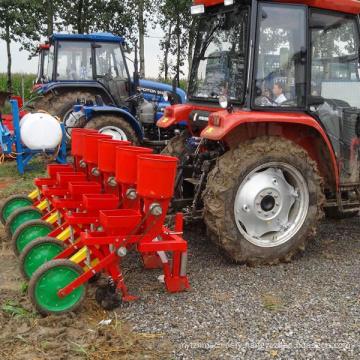 4 rows ordinary corn seeder with fertilization