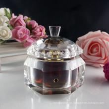 Botella de perfume de cristal tradicional 3ml para regalo y decoración
