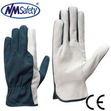 NMSAFETY gant de travail en cuir réfléchissant grain de porc