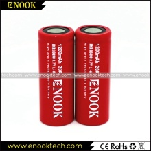 hot selling 18500 1200mAh 3.7V 20A  e-cigarette battery