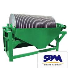 Hot sales high efficient gold dust fine magnetic separator