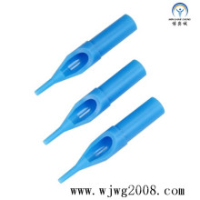 Conseils en plastique à usage unique pour tatouage - 50 mm (bleu)
