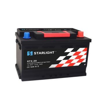 Bateria de lítio preta do carro de 12.8V 072-20 LiFePO4