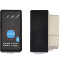 ELM327 Bluetooth con alimentación interruptor botón OBD2 Can Bus para escáner de código de coche par Android