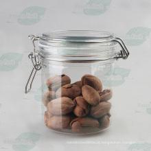 16oz pet plástico recipiente para Gelato, pet gelado Jar (PPC-64)