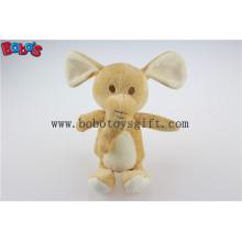 Fábrica do OEM feitos brinquedos bonitos do bebê do elefante para crianças BOS1207