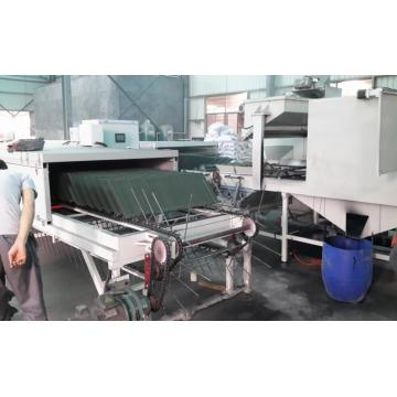 Warna Baja Lembaran Vermiculite stone coated Machine
