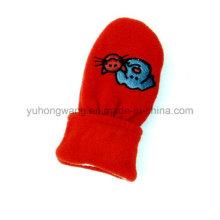 Fashion Knitted Warm Polar Fleece Kid′s Gloves/Mittens