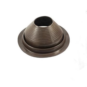 Solin de tuyau de toit en caoutchouc EPDM carré personnalisé