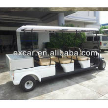 6 seats electric fuel 48V price electric golf car with small cargo