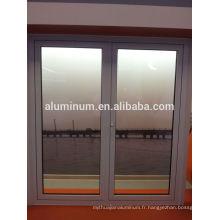 Porte latérale suspendue en aluminium