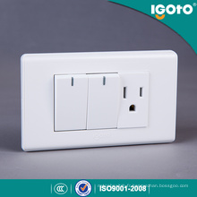 American Style Electrical 10A Switch and Socket Outlet