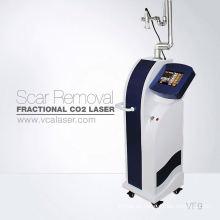 Eliminación de cicatriz profesional fraccional co2 láser matriz de puntos rf