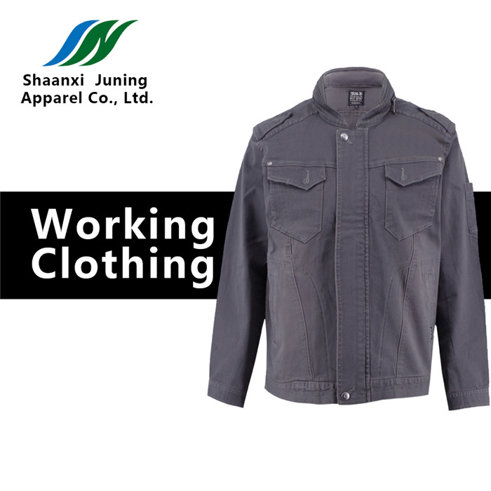 Grey male Workclothes