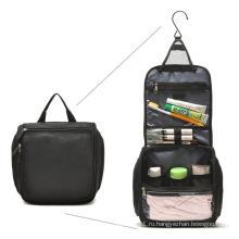 600d полиэстер крючок косметическая сумка для туалетных принадлежностей (YKY7524)