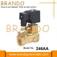Fire Fighting System Manual Override Brass Solenoid Valve