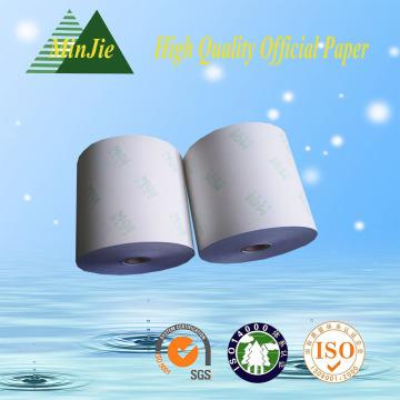Печатный тип Carbonless Cashier Бумажный рулон Оптовый рулон бумаги NCR