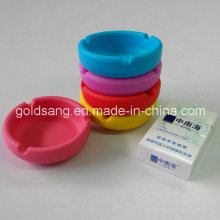 Customize Smoking Accessories Silkscreen Printing Unique Silicone Ashtray