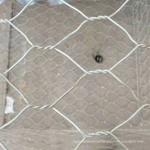 2.7mm 80x100mm galvanized galfan pvc coated stone cage How much is 2x1x1 gabion