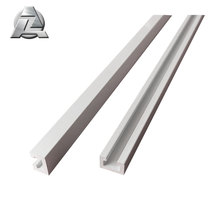 Many types sizes and shapes inox aluminum extrusion gutter profile