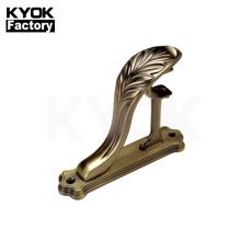 KYOK Curtain Rod Bracket Metal For Curtain Pipe Swivel Curtain Pole Bracket M913