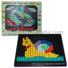 3D rompecabezas de plástico Jigsaw Puzzle para los niños