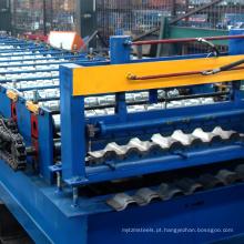 Carro de frete caixa de placa de transporte carro painel painel de cobertura de metal formando linha de produção