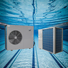 pool heat pump with solar panels