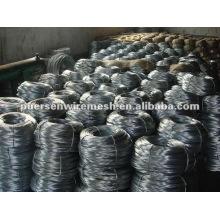 Bright galvanized steel wire - factory