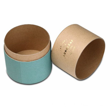 Kraft Cylinder Packaging Tube untuk Essential Oil