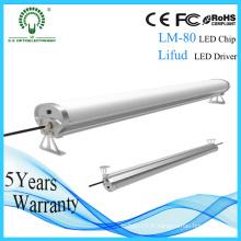 Lumière industrielle triphasée de tube de 600mm / 1200mm / 1500mm LED IP65 LED