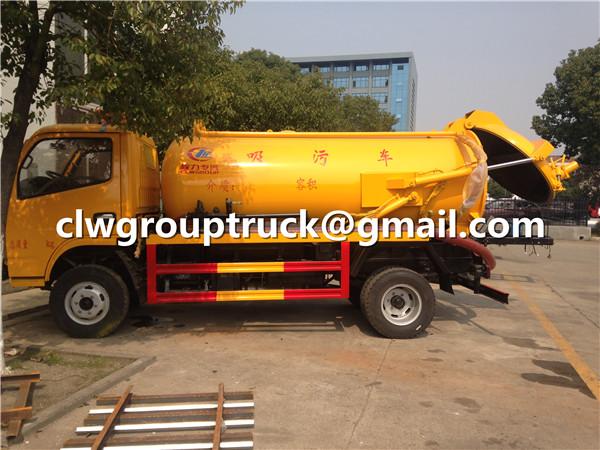 Vacuum Pump Sewage Tanker
