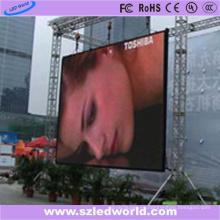 P10 Al aire libre de alquiler a todo color de fundición a presión pantalla de la pantalla LED de la fábrica de China