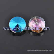 Hot Selling AB Color Round Faceted Crystal Glass Beads For Jewelry