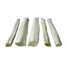 Fireproof manga de sílica alta / manga de fibra de vidro de sílica alta