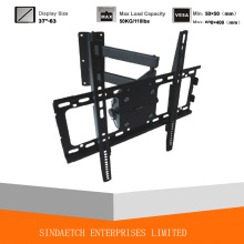 Soporte de montaje de pared de TV de movimiento completo ajustable TV Rack