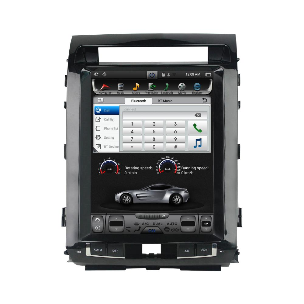 12.1 inch vertical touch screen Hyundai Land cruiser