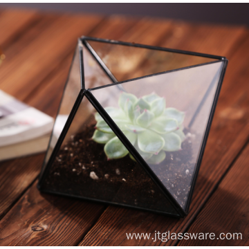 Handmade High Quality Geometric Terrarium Glass Container