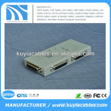 Auto 4 ports 25 broches DB-25 Parallel Printer Sharing Switch Box