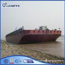 Barcaza de pontón personalizada de alta calidad, barcazas flotantes para ventas (USA3-017)