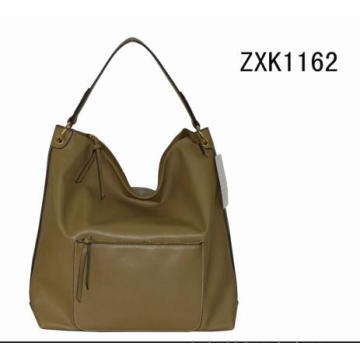 Fashion Single Handle Lady′s Hobo Bag Zxk1162