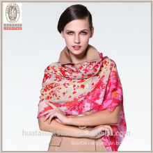 Grace Cherry Blossom flower wholesale wool scarf shawl
