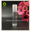 Cosmetic care for perfume roller 5ml glass on bottle roll thin containers for perfume roll on